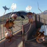 Scuba Diver Wind Sculpture