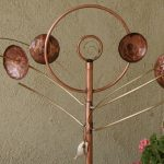 Twirly Copper Wind Sculpture