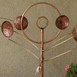 Twirly Copper Wind Sculpture